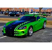 Dodge Gts Muscle Srt Supercar Viper Cars Usa Blue Green