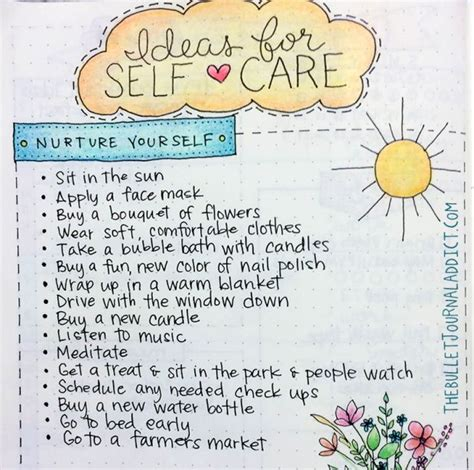 Mba Self Care by 1000 Images About Bullet Journal Ideas On