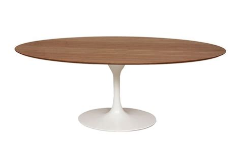 Table Ovale Bois saarinen table ovale de bois knoll milia shop