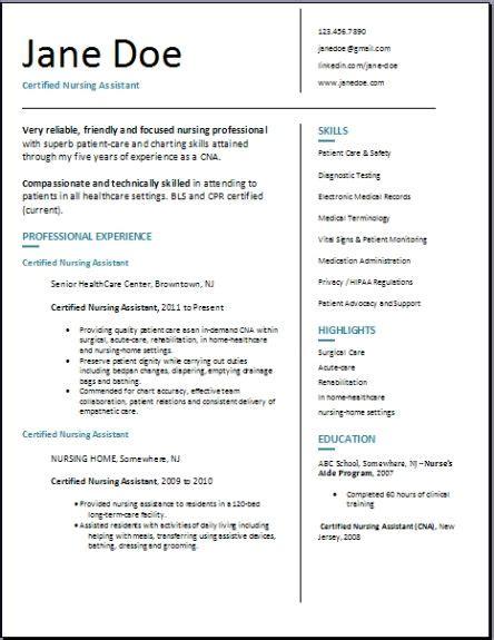 Resume Sles Certified Nursing Assistant by Resume Certified Nursing Assistant Cover Letter Wonderful