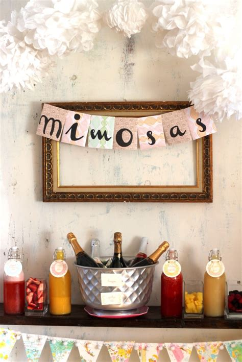 Shopping At The Bridal Bar by Mimosa Bar How To And Shopping List