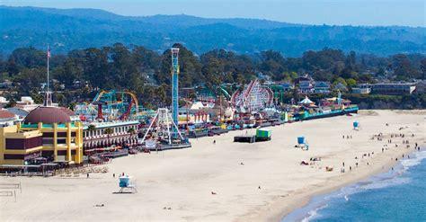 santa cruz beach boardwalk amusement park californias
