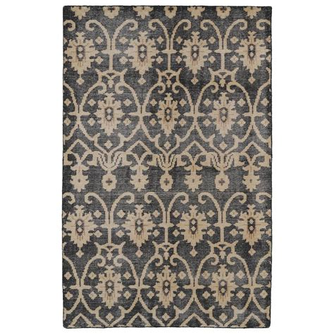 Kaleen Restoration Black 4 Ft X 6 Ft Area Rug Res01 02 4 4 X 6 Area Rug