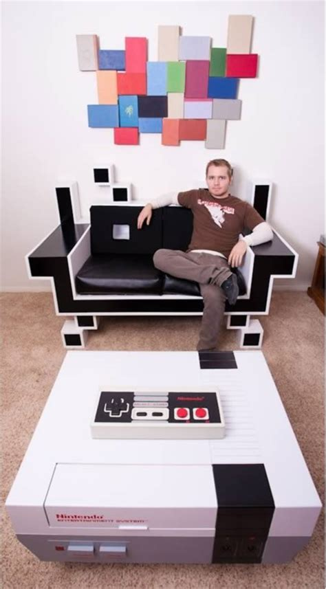 gamer living room 10 seriously awesome pieces of geeky furniture oddee