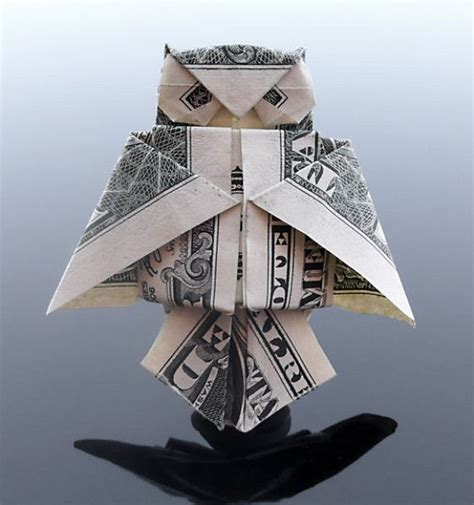 Origami From Dollar Bill - amazing dollar bill origami