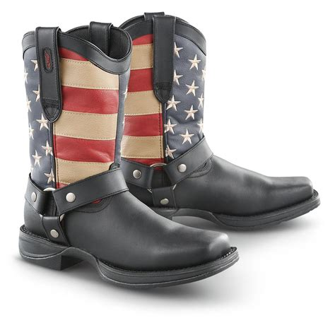 mens durango boots s durango boot 174 rebel patriotic harness boots 292233