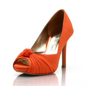 chagne colored wedding shoes custom made wedding heels orange wedding heels pumpkin