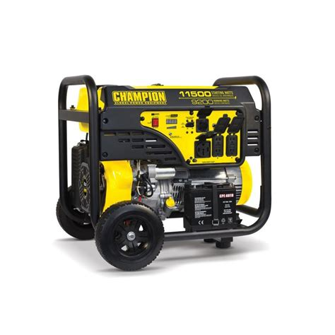 shop chion power equipment 9200 running watt portable
