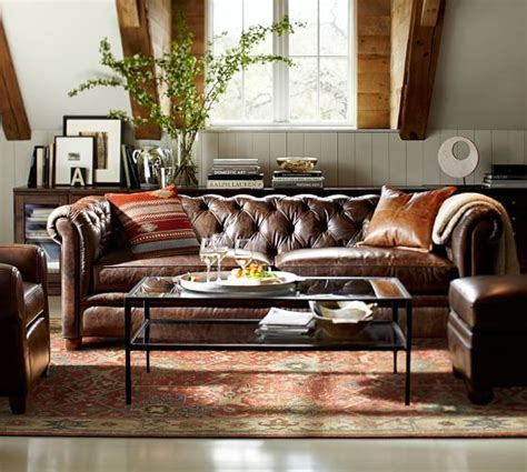 pottery barn sectional couches best 25 pottery barn leather sofa ideas on pinterest