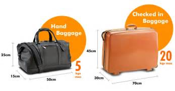 luggage allowance and policy easybus
