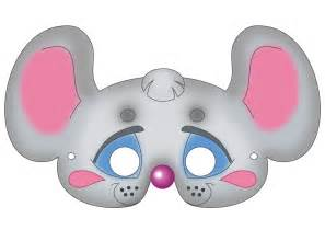 Mouse Mask Template Printable by Pin Mouse Mask Template To Print On