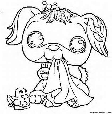 coloring pages of littlest pet shop dogs coloring pages littlest pet shop page 2 printable