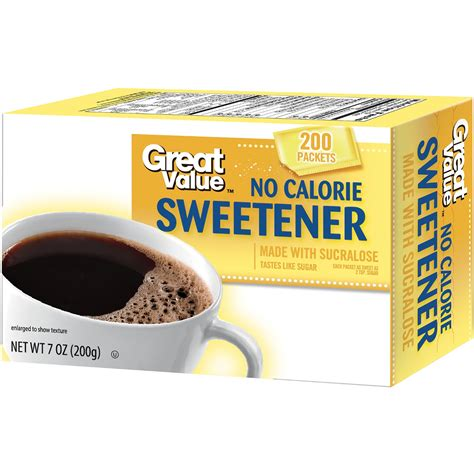 Diabetasol Sweetener Isi 200 great value no calorie sweetener 200 ct jet