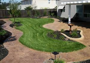 Grass Patio Ideas by Roland Beginner Small Yard Landscaping Ideas On Hillsides