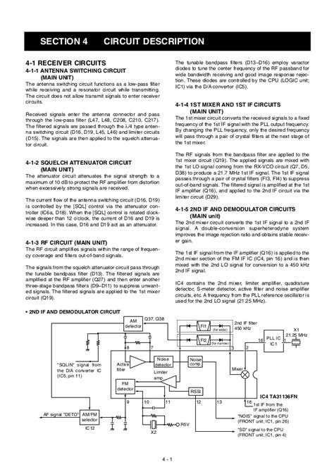 Filter Keramik Recive Icom 2200 icom 2200 h service manual