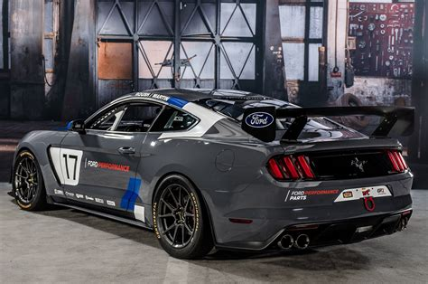 is ford mustang a car ford mustang gt4 racer debuts at sema motor trend