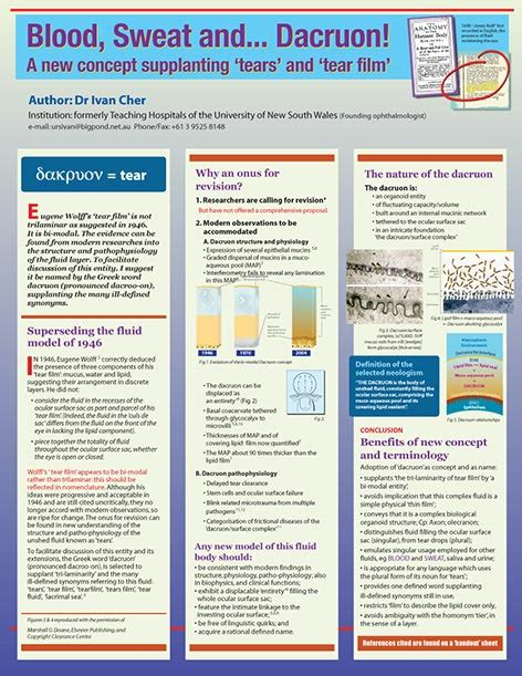 poster layout conference freelance sydney medical illustrator specialising in