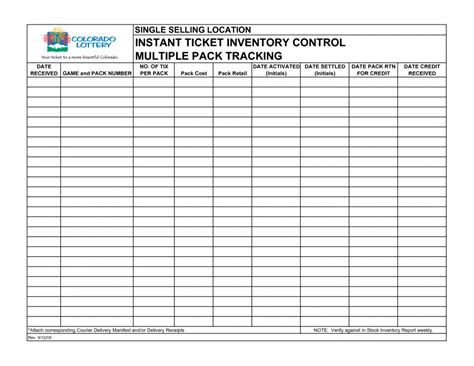 Inventory Sheet Template Free Printable Inventory