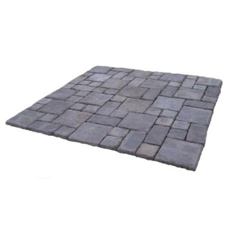 cass 100 sq ft gray concrete paver kit cassg the