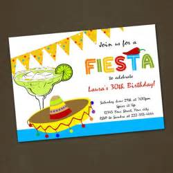 mexican birthday invitations you print