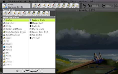 Corel Painter Lite by Corel Painter Lite Mac 1 0 821
