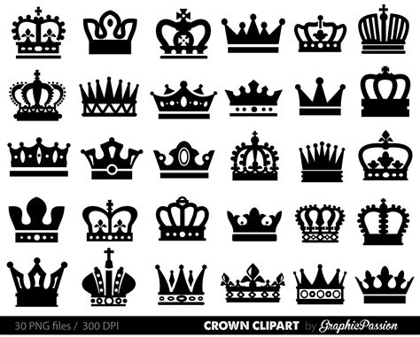 king and queen crown clipart clipartxtras