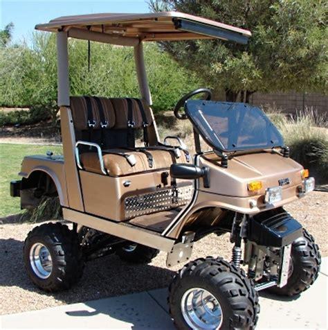 Fully Custom Yamaha Golf Cart