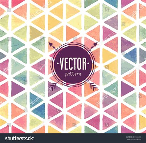 vector watercolor seamless pattern patterns creative vector watercolor seamless pattern stock vector 211582639