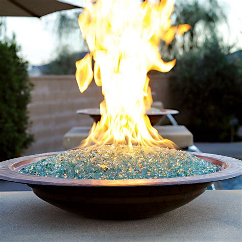 Baker Dining Room Table fire bowl for tabletop or custom structure gold granite