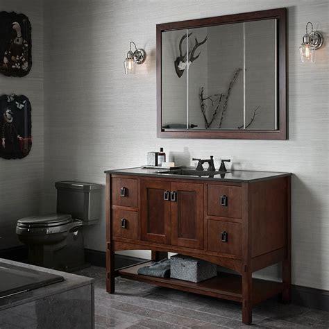 kohler double sink vanity kohler vanities furniture incredible rustic single