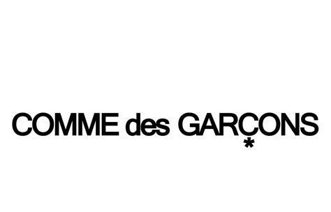 Topi Comme Des Garcons Logo Hat wordmark this is the comme des garcons logo designed by rei kawakubo who co owns the label with