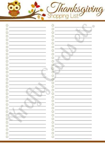 free printable grocery list for thanksgiving printable blank list search results calendar 2015