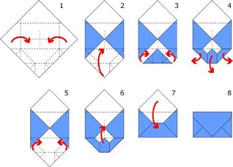 How To Make An Origami Envelope Step By Step - best 25 make an envelope ideas on how to make