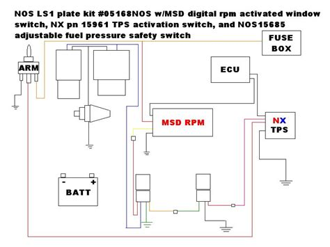 zex nitrous wiring diagram zex nitrous management unit