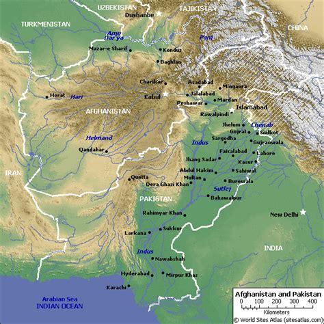 pakistan map satellite pakistan map and pakistan satellite image