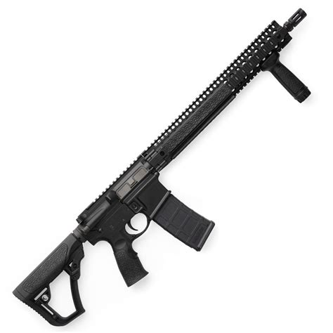 Daniel Defense 145 M4 Carbine Steel glock 40 gen4 mos 10mm black nitride steel slide 6 02 inch barrel dual recoil black