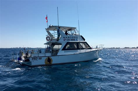 dive charter dive boat charter trips scuba diving florida narcosis