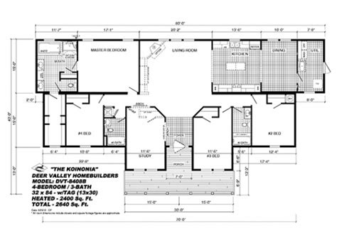 deer valley mobile home floor plans floor plans american homes la deer valley home builder