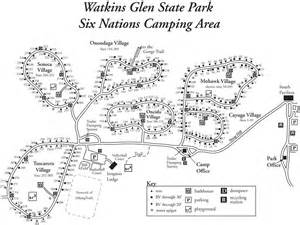 Watkins Glen State Park Map by Watkins Glen State Park Maplets