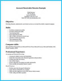 Sample Accounts Receivable Resume Accounts Receivable Resume Presents Both Skills And Also