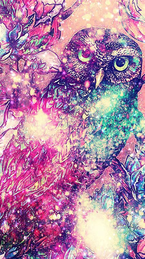 night owl galaxy wallpaperlockscreen girly cute