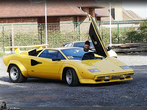 yellow lamborghini countach countach lp400 s lp400s23 hr image at lambocars com
