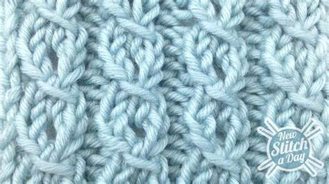 how to knit a cable stitch the eyelet mock cable ribbing stitch knitting stitch 82