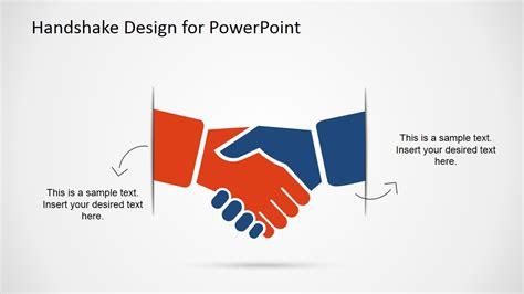 Handshake Design Template For Powerpoint Slidemodel For Powerpoint