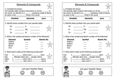 Periodic Table Worksheet High School by Periodic Table Of Elements Worksheet Photos Getadating