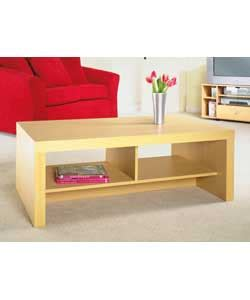 Beech Effect Coffee Table Chunky Beech Effect Tv Unit Coffee Table Review Compare Prices Buy