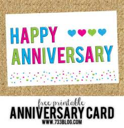 free printable anniversary cards inspiration made simple