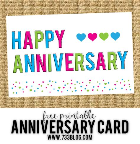 Free Printable Anniversary Card Templates by Free Printable Anniversary Cards Inspiration Made Simple