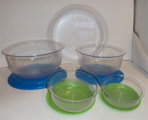 Tupperware Preludio Serving Set tupperware preludio deluxe acrylic entertaining