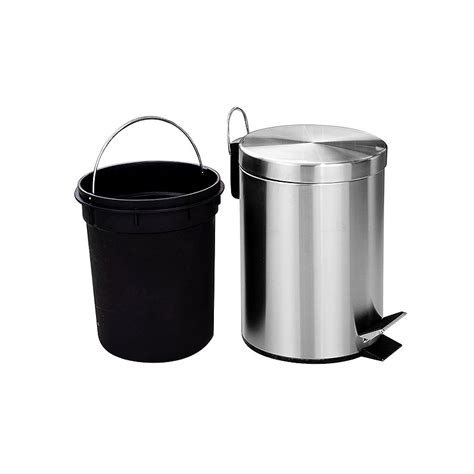 3l bin dimensions crafts aemaxx 3l metal large size stainless steel recycle foot